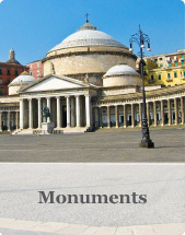 Monuments in Naples (Campania - Italy)